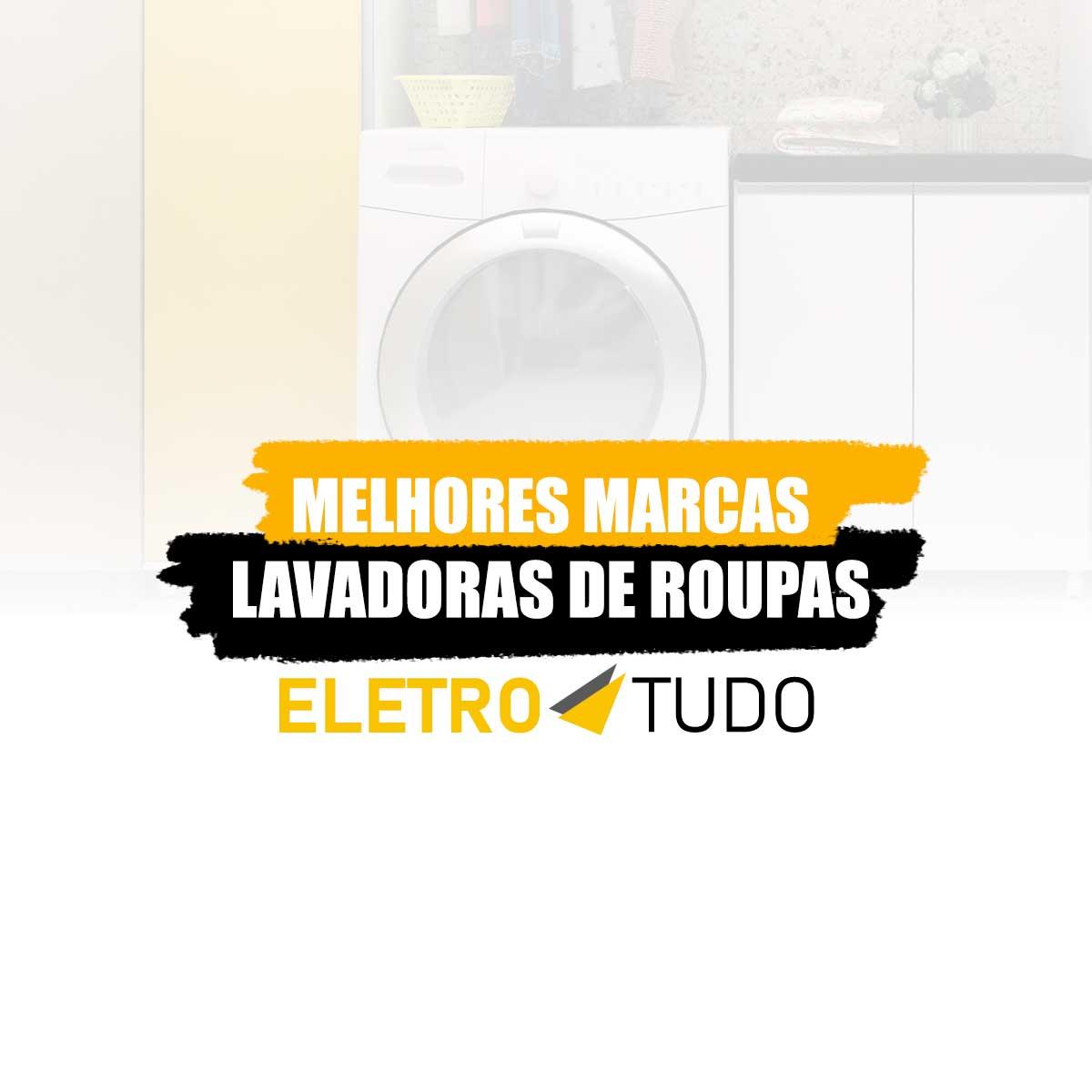 melhores marcas de máquinas de lavar