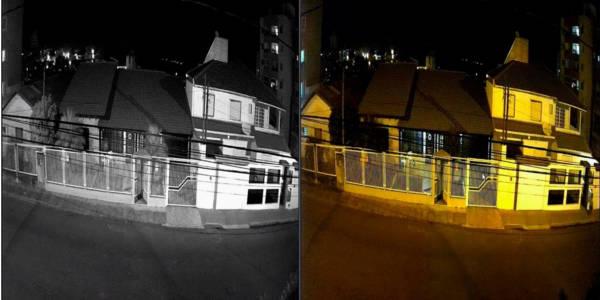 visao noturna cameras de vigilancia