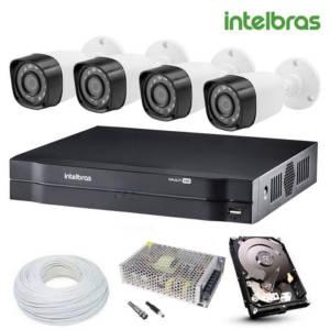 sistema de câmeras de segurança (CFTV)